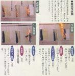 稲わら畳床の難燃性